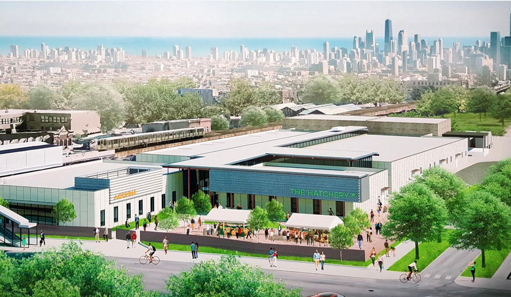 """The Hatchery"" Food Incubator, Chicago (rendering)"