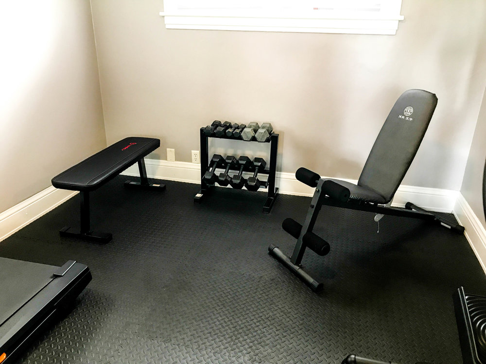 Full workout facility in the Clubhouse