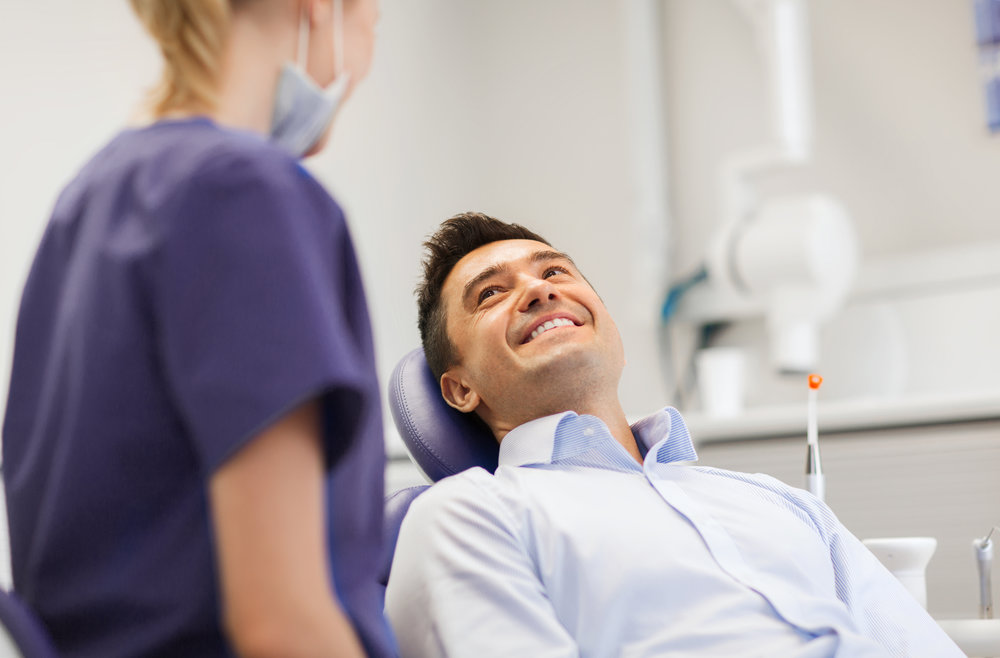 We love people. - We're all about our patients here at Trusas Family Dentisrty. We are a people-centric medical facility, not a paycheck-centric business. When you're here, you're treated like family, and the recommendations we give are for your overall health and well-being, not for our gain.
