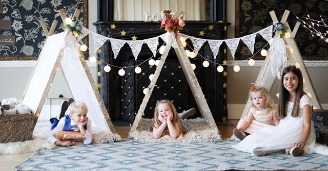 A place for all your little guests to gather, play and get crafty! #weddings2019 #brightideas #kidscorner #littleguests #uniqueweddingideas #surreywedding