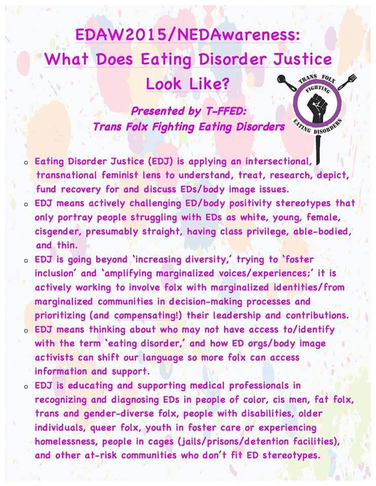 Find the Eating Disorder Justice image on Trans Folx Fighting Eating Disorders' site  here .