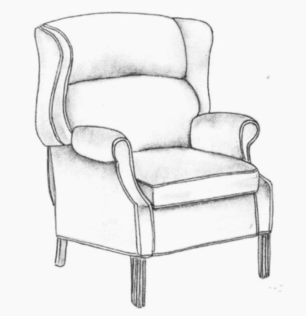 Many new furniture designs start as a series of sketches or 3D scans and are then converted into 3D model for refinement.