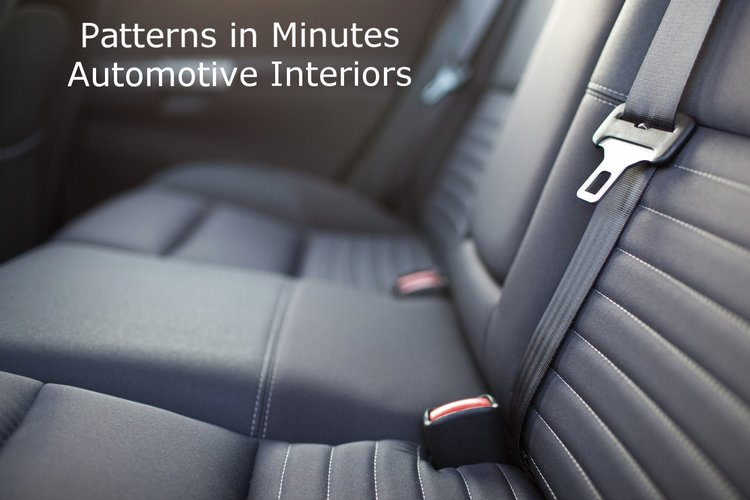 Patterns in Minutes - Automotive Interior Trim Cover - Part I