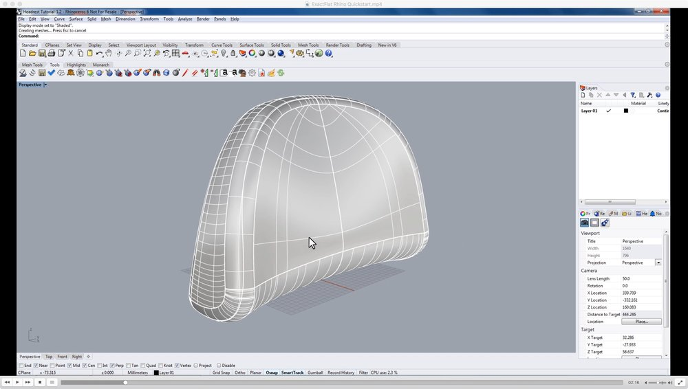 Quickly clean up and edit the scan into precise 3D surfaces.