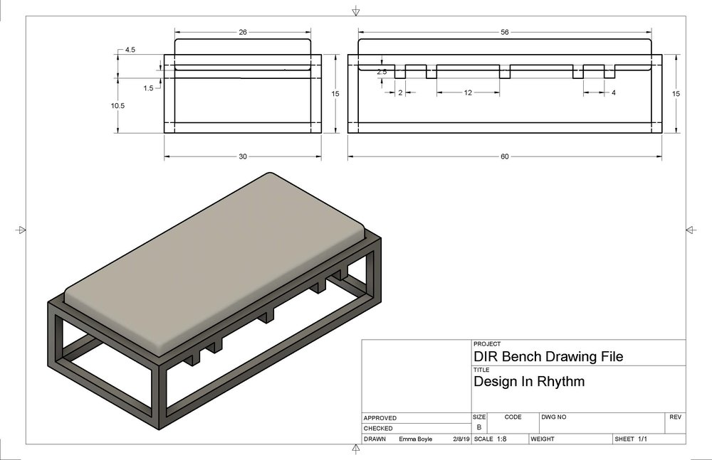 Precise manufacturing drawings were generated automatically from the 3D model. Eliminating quoting and production errors