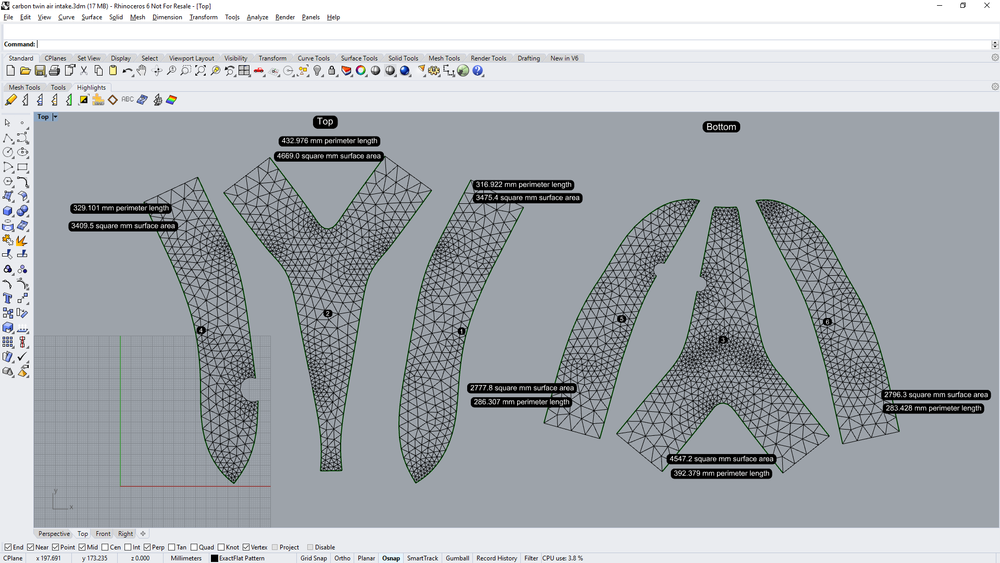 Digital Patterning Solutions like  ExactFlat  produce accurate 2D patterns from the 3D model in minutes. click on the image to experience the complete design to patterning process.