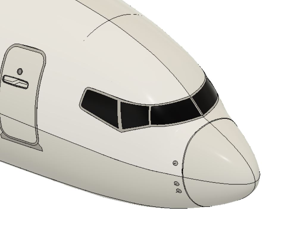 Composite materials are ideal for aircraft components allowing structures like the forward radar dome assembly to incorporate features for aerodynamic performance while providing strength and light weight .