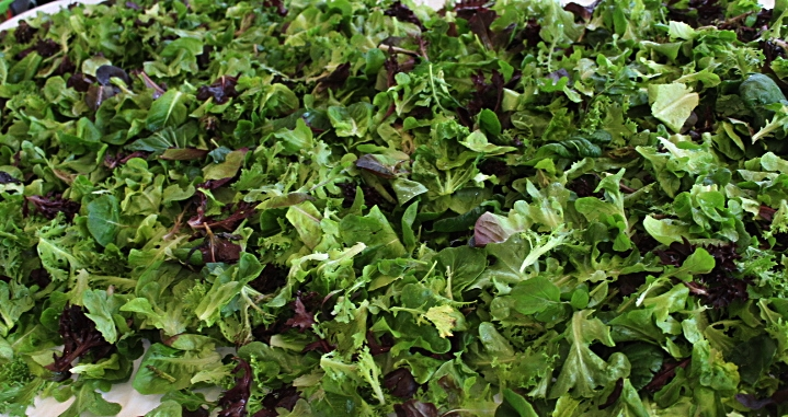 Certified Naturally Grown Lettuce Mix!