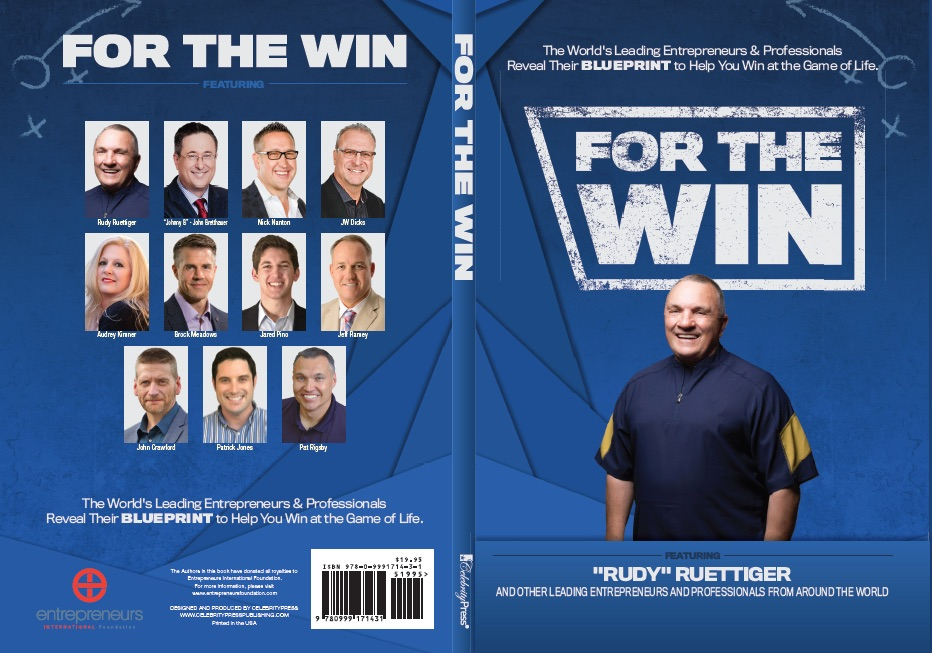 "For the Win     In this book I (Brock Meadows) talk about The ""Magic"" that helps you ""Win and Keep on Winning"". I share critical discoveries I made going through some of the most difficult times in my life. How those moments produced clarity and fuel to help me understand what it takes to achieve success and keep on winning.   Ultimately, I reveal a most important exercise that can provide a blueprint to help you win at the game of life and breakthrough whatever it is that's holding you back"