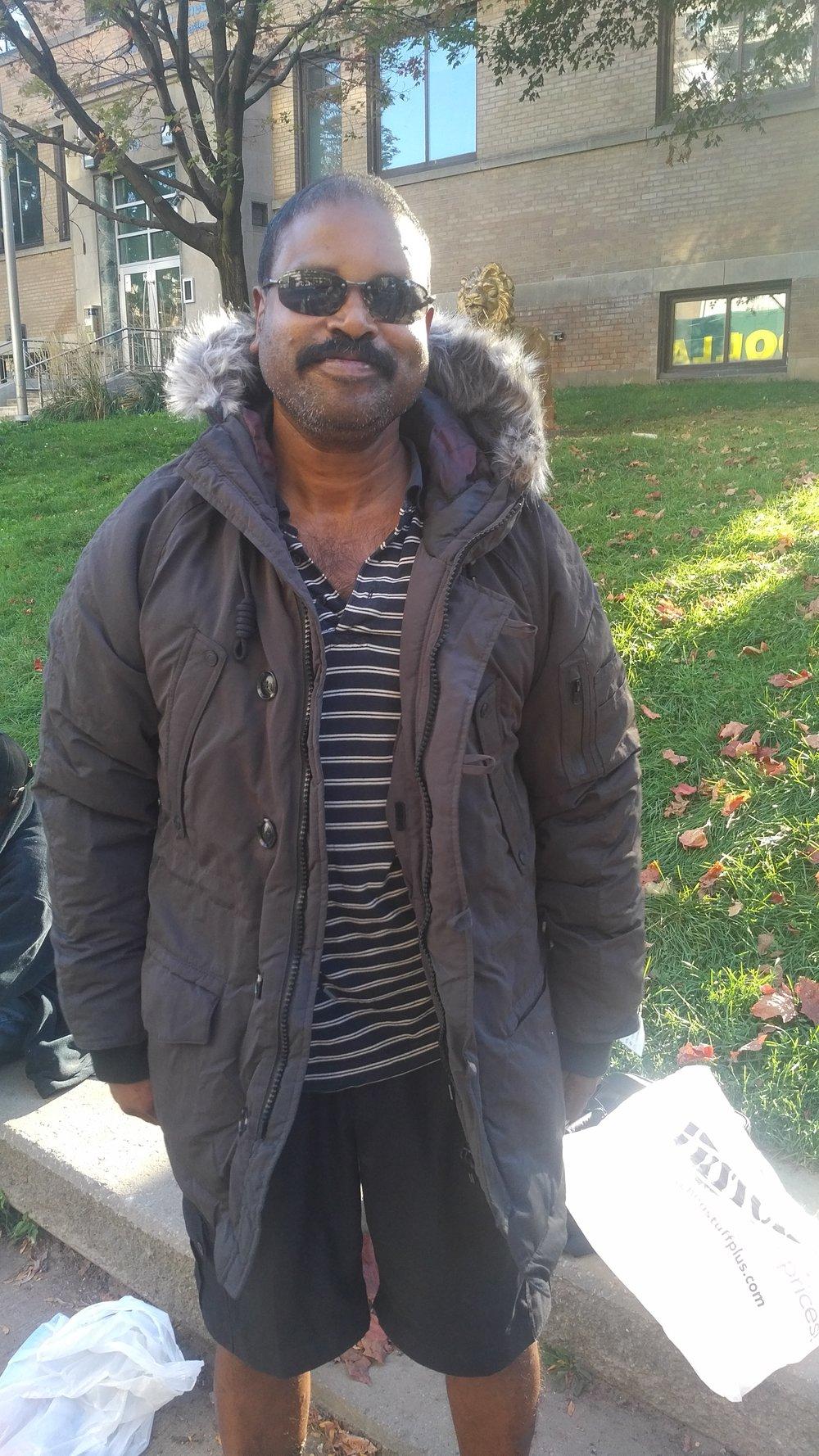My friend Shan Mohammed, still alive.