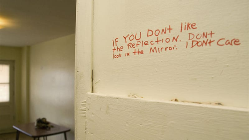 Lines written by Magnotta found in his emptied closet after he fled to Europe.