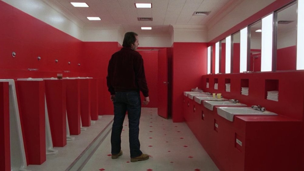 A still from  The Shining  (1980)