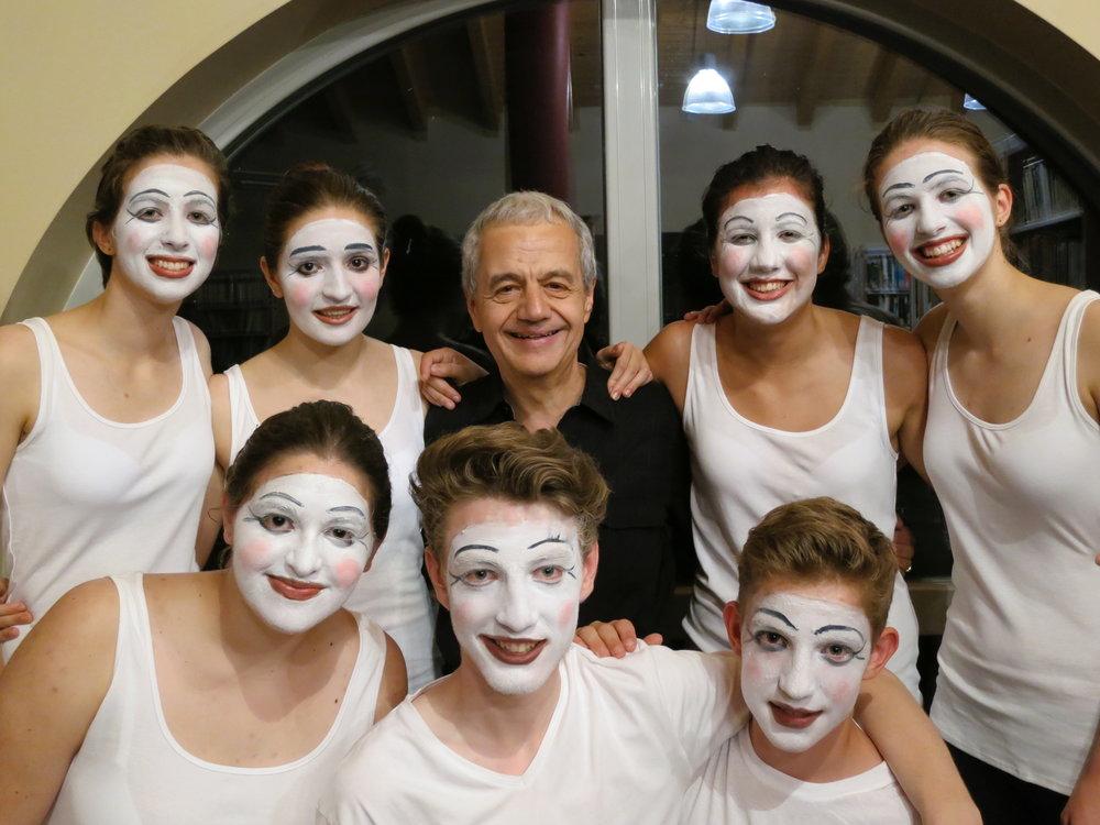 Directing / Original Choreography;  Meditation on Electronic Culture ; Festival Musica sull'Acqua, Lake Como, Italy