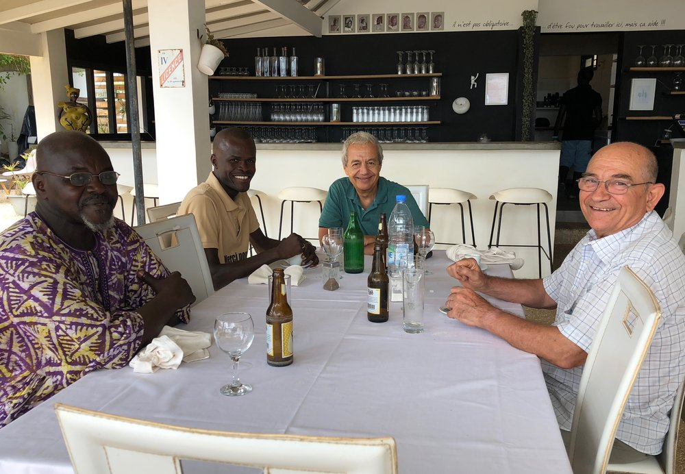 Street 14 Seaside Restaurant with My Hosts.jpg