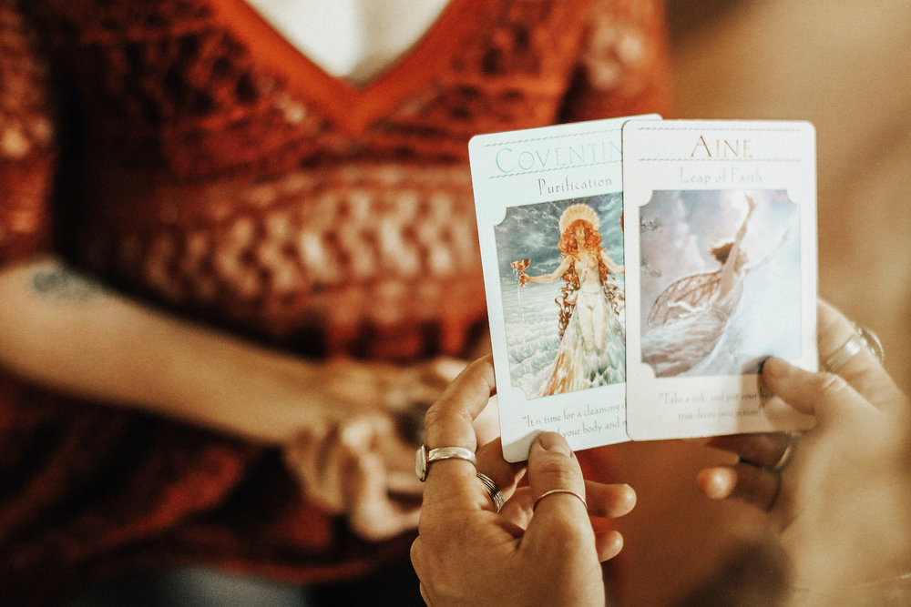 Oracle Cards - Your guides are here to talk to you. Oracle cards are a great guidance system for what message you are needing at this time.