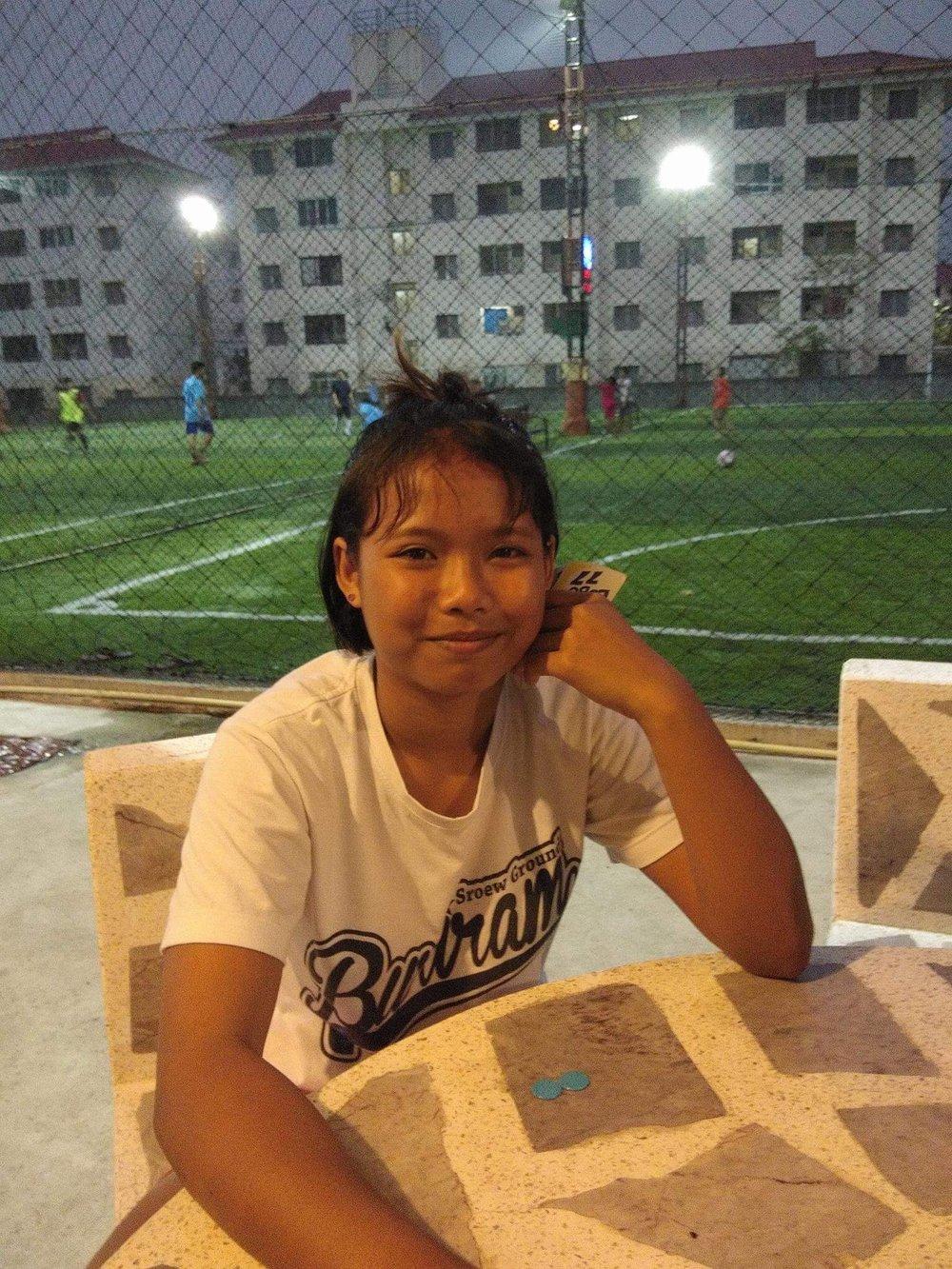Cha (14 years old, Girl)