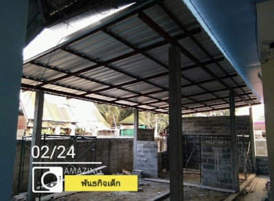 Project 3 - Khonburi Mission Church and Orphanage. We added onto the girls dorm for 8 new girls.  This project started February 18, 2018 and construction ended on March 16, 2018.