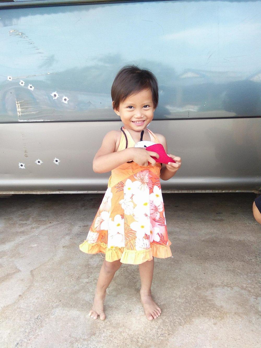 Anyong (3 years old, Girl)