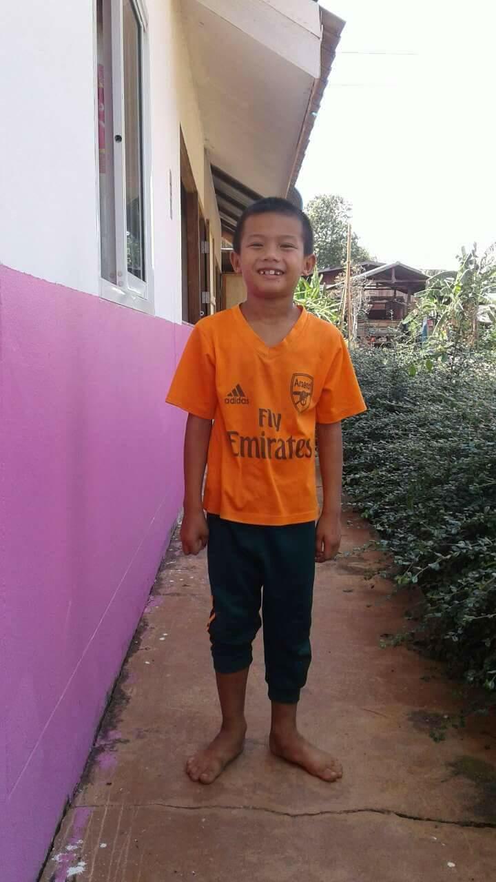 Chok Numchok (8 years old, Boy)