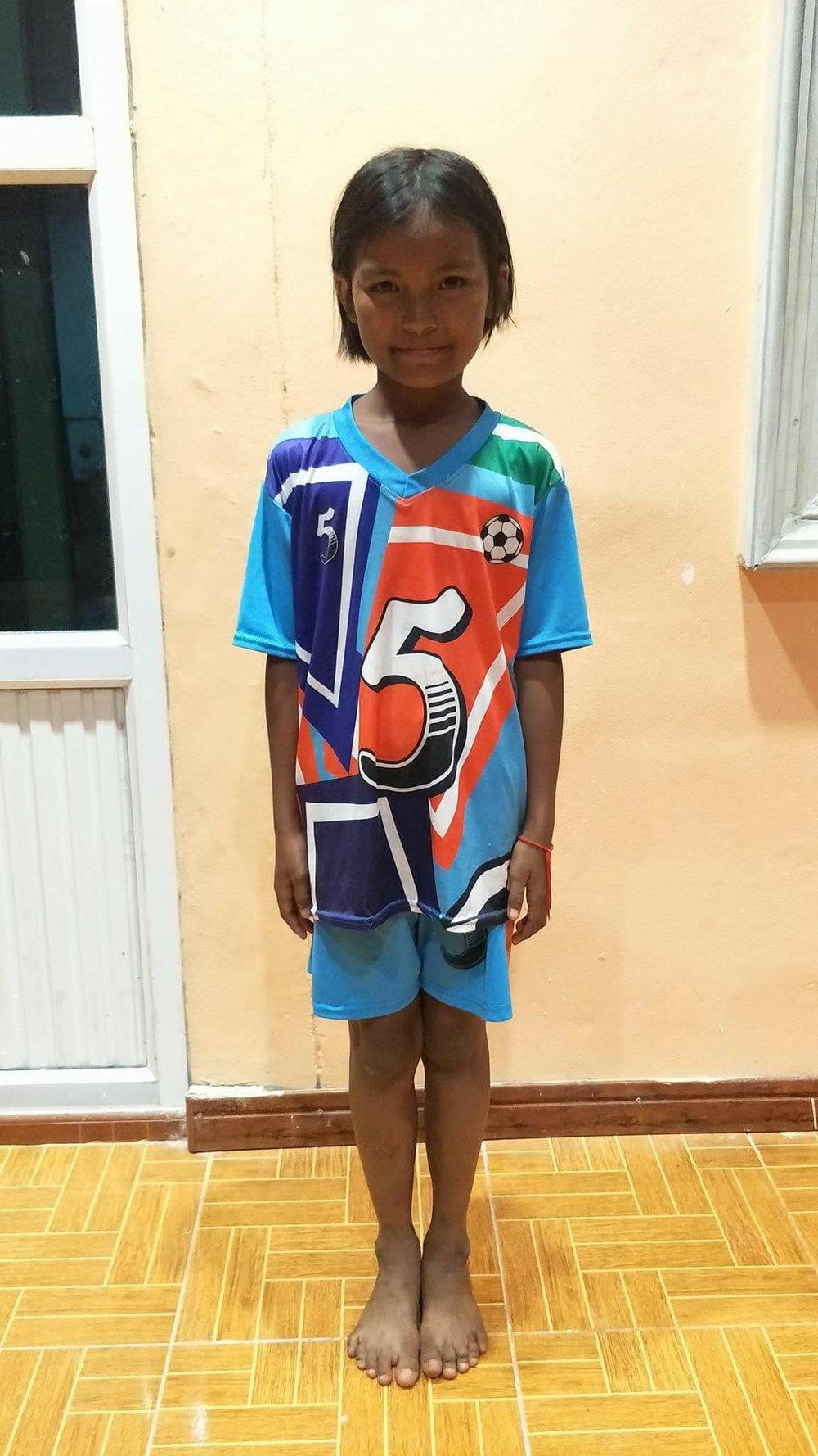 Jerawan (9 years old, Girl)