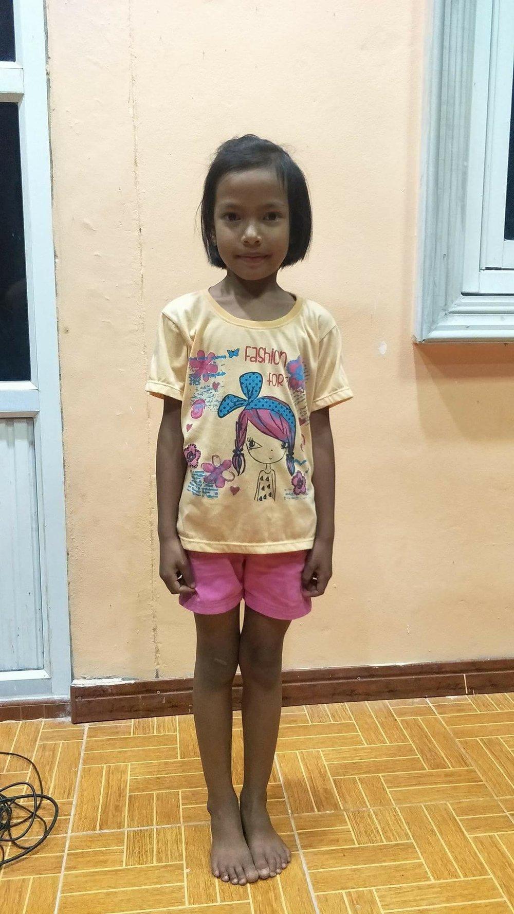 Dai Kujera (6 years old, Girl)