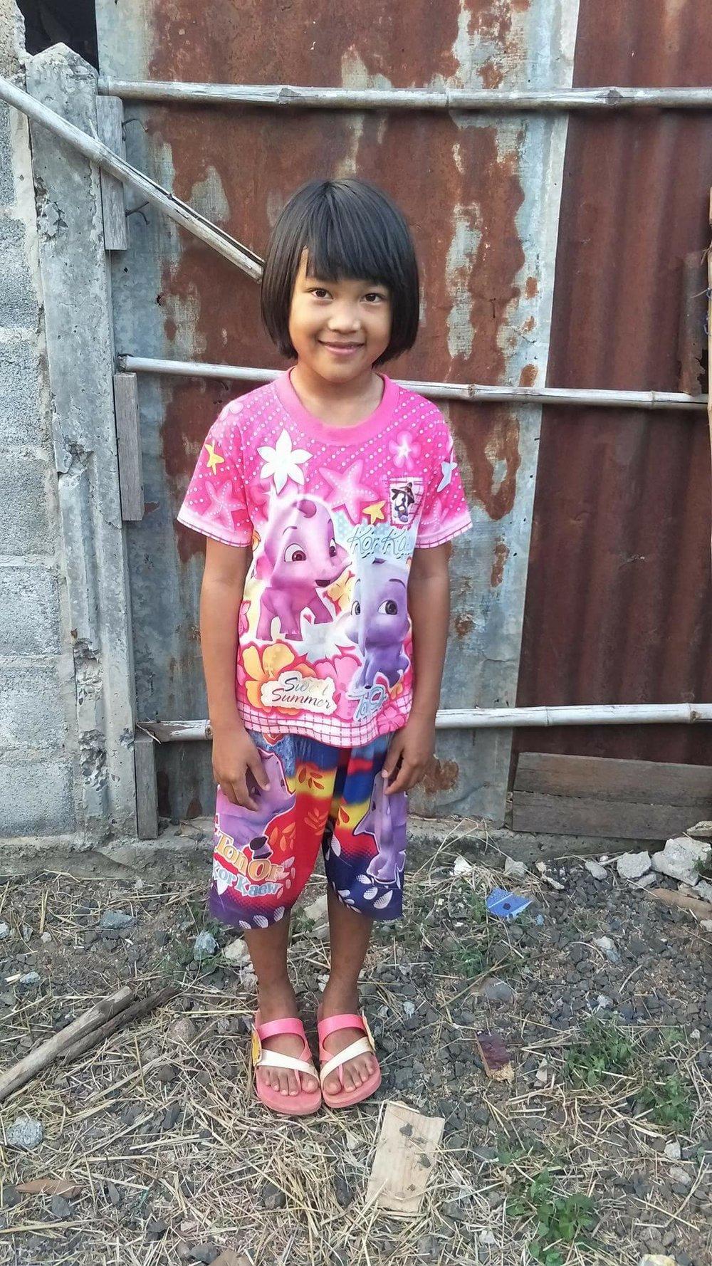 Netty Pakaikean (8 years old, Girl)
