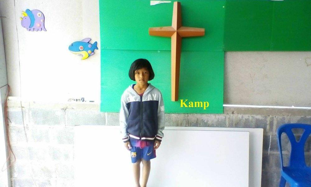 Kamp (8 years old, girl)