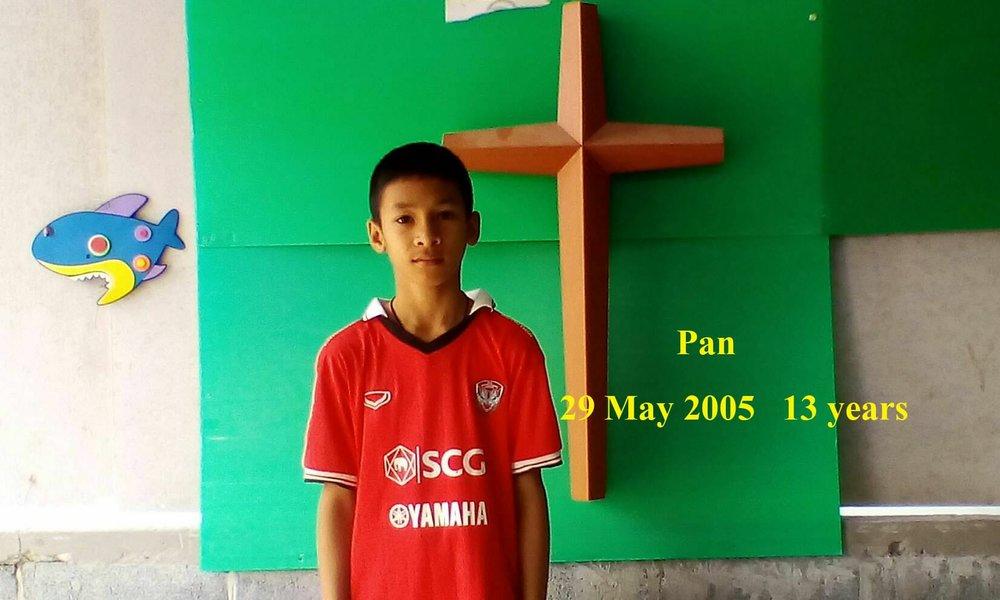 Pan (13 years old, boy)