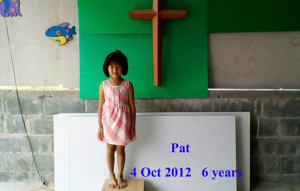 Pat (6 years old, girl)
