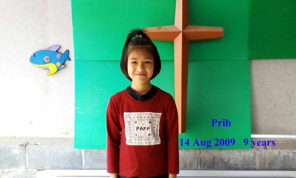 Prib ( 9 years old, girl)