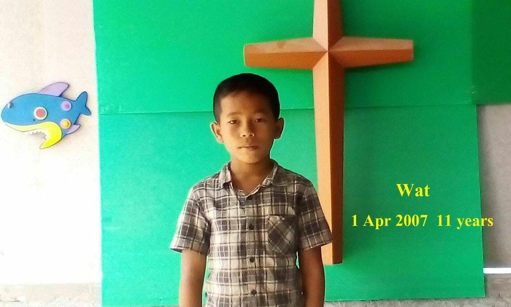Wat (11 years old, boy)
