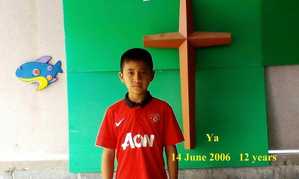 Ya (12 years old, boy)