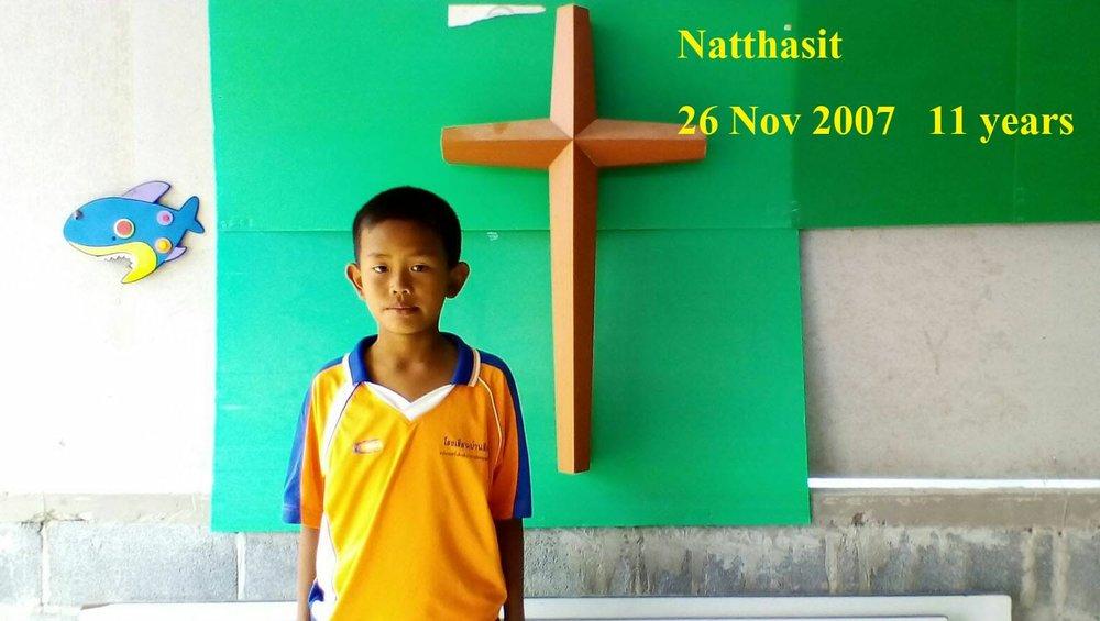 Natthasit ( 11 years old, boy)