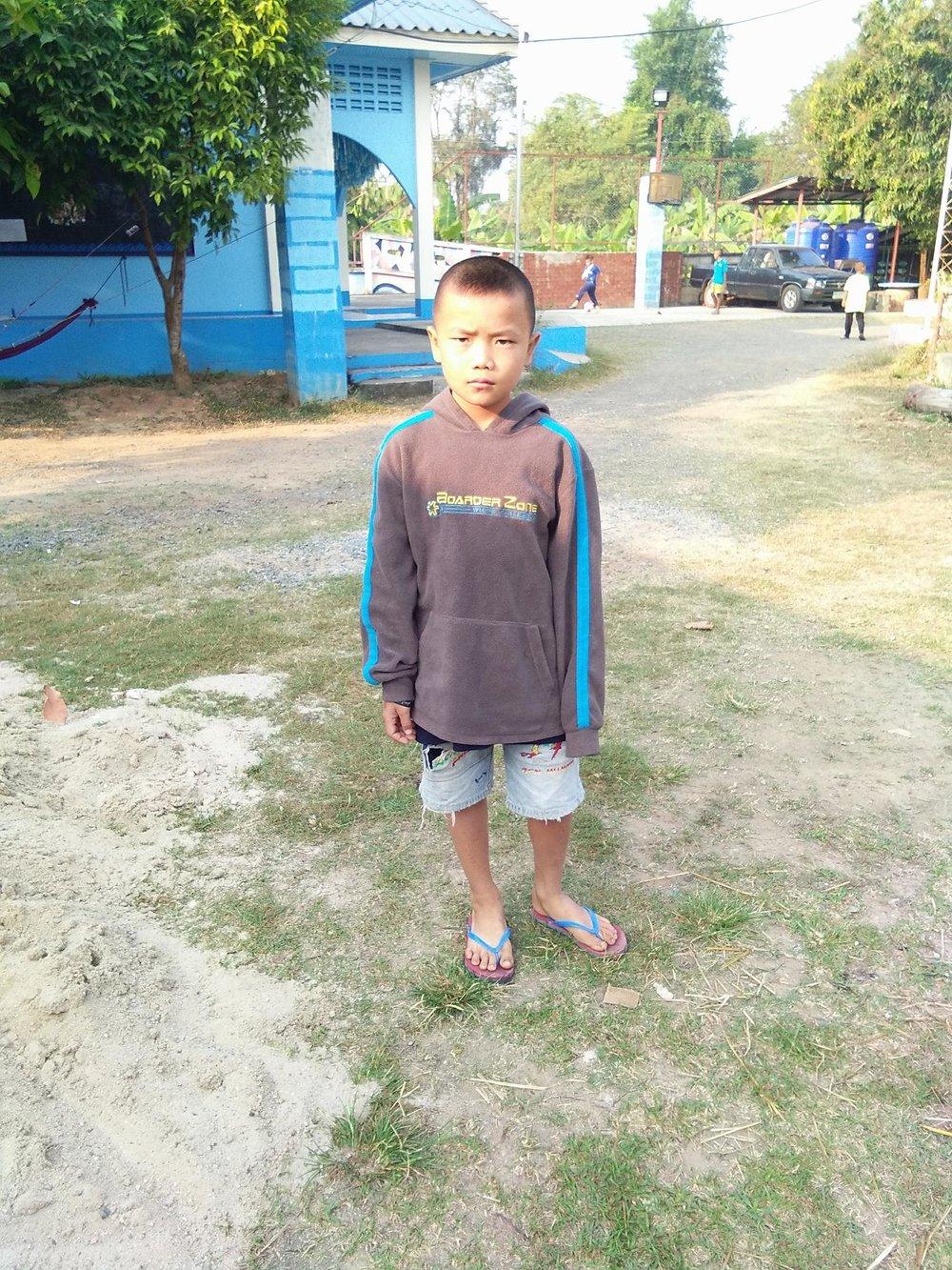 Sila (10 years old, boy)