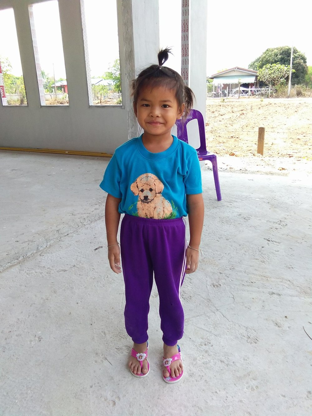 Bantdeen Sodamuk (7 years old, girl)