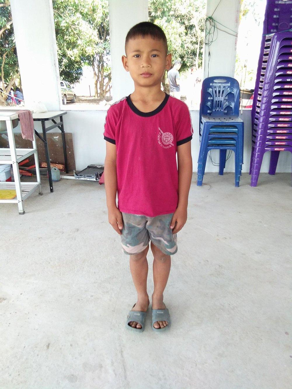 Sakkarin Janbowla (11 years old, boy)