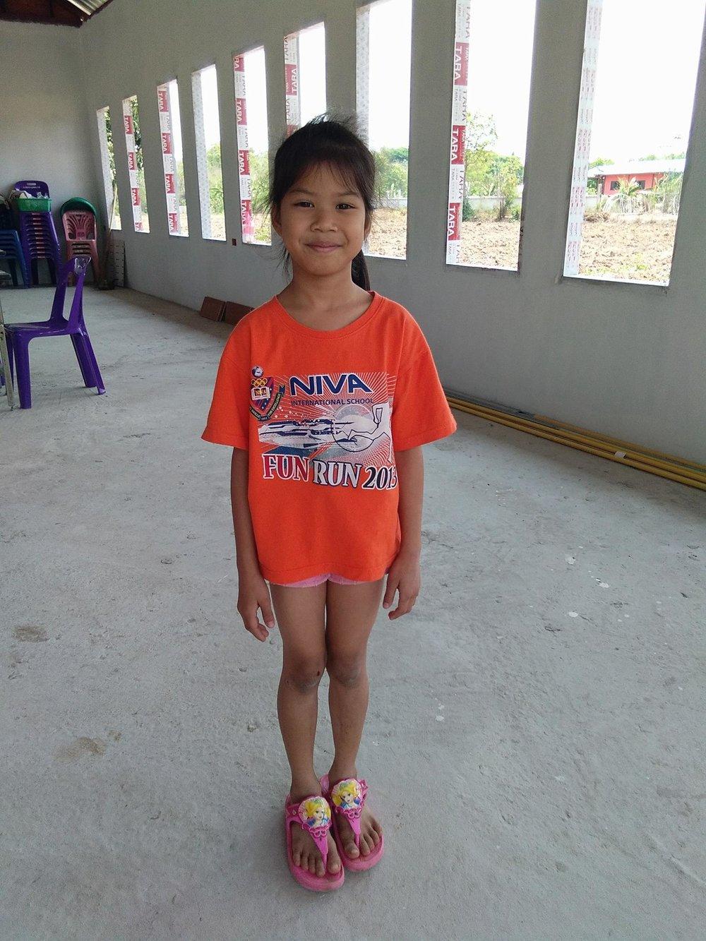 Butamas Wantamas (8 years old, girl)