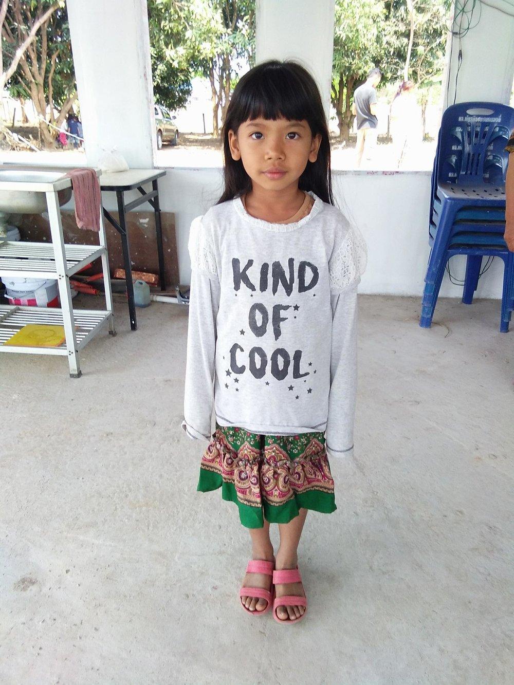 Virada Seaghachai (7years old, girl)