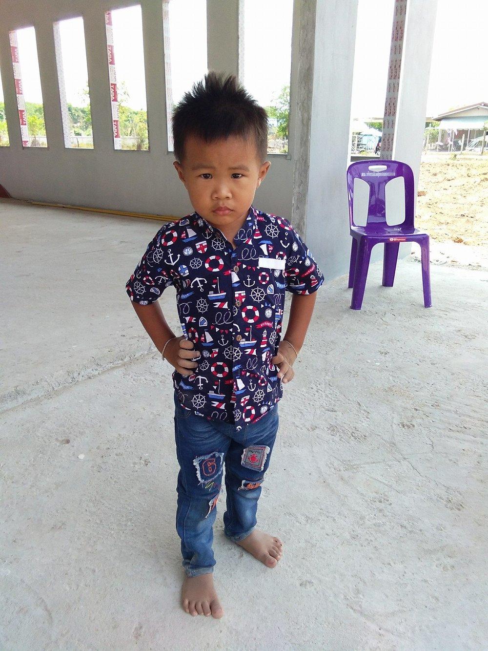 Sot Phar Sean Tanausab (5 years old, boy)