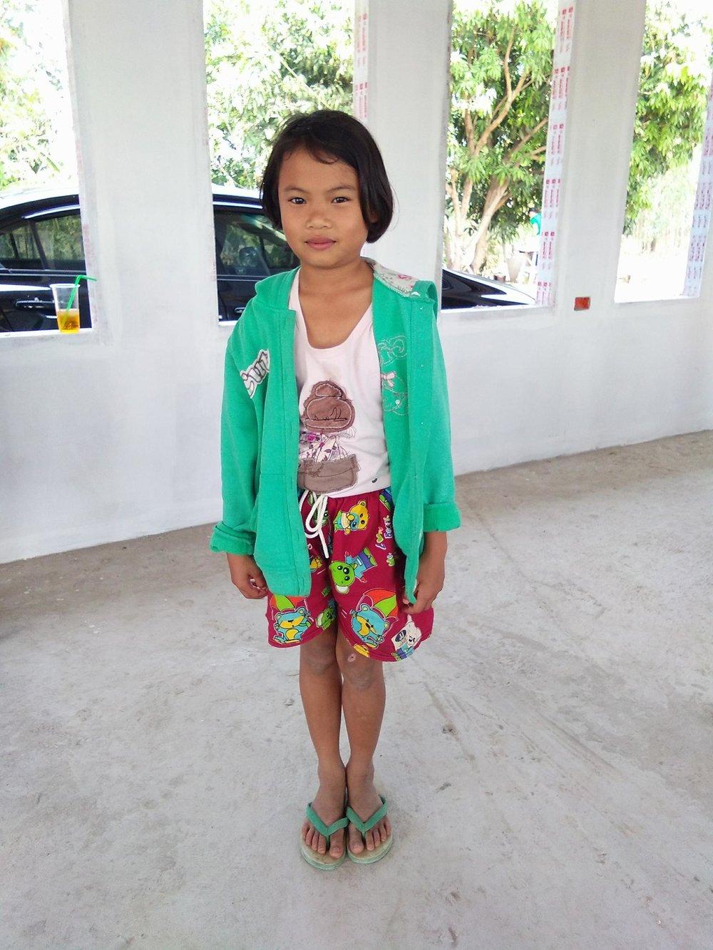 Sasiton Janbowla (11 years old, girl)