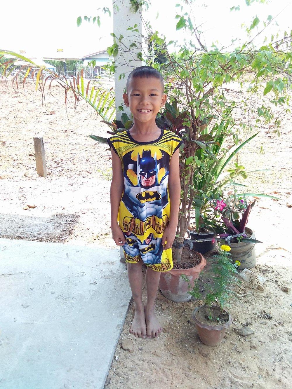 Nattawat Nokthaisonk ( 8 years old, boy)