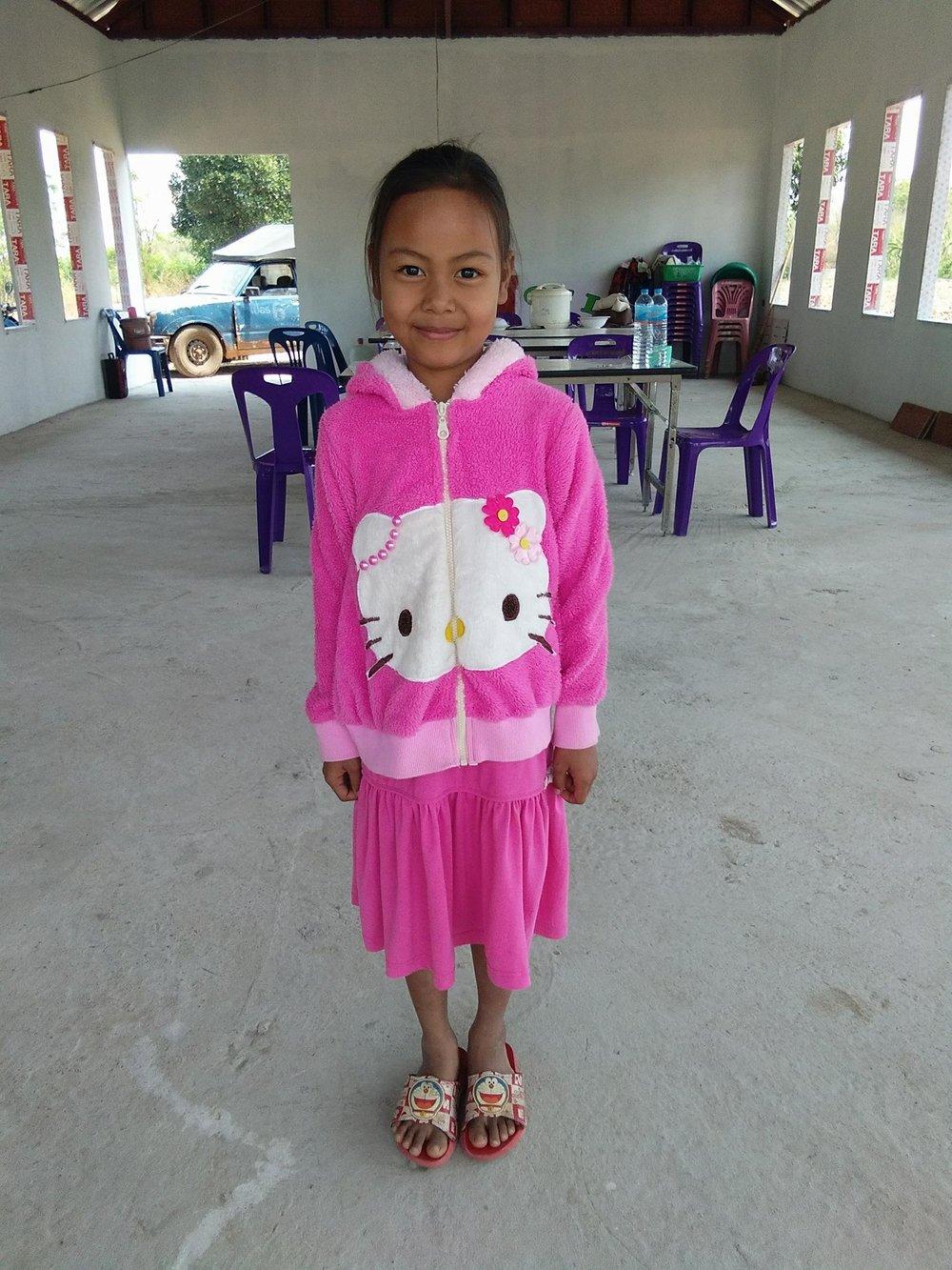 Natcha Pondongnok (8 years old, girl)