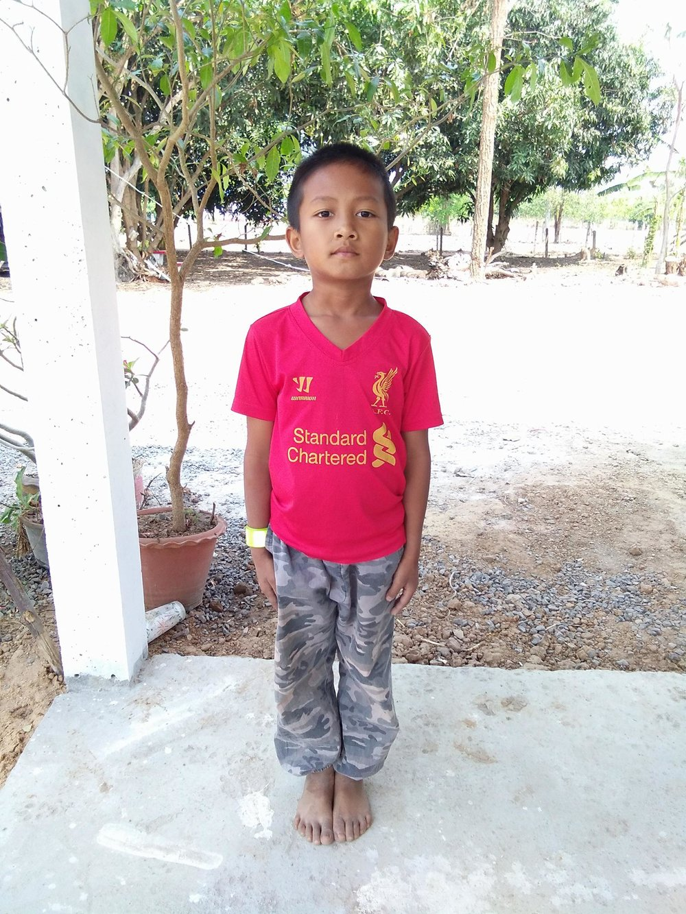 Pharteep Kewpan (9 years old, boy)