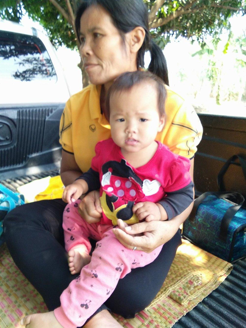 Kringtapon Naksakean ( 2 years old, girl)