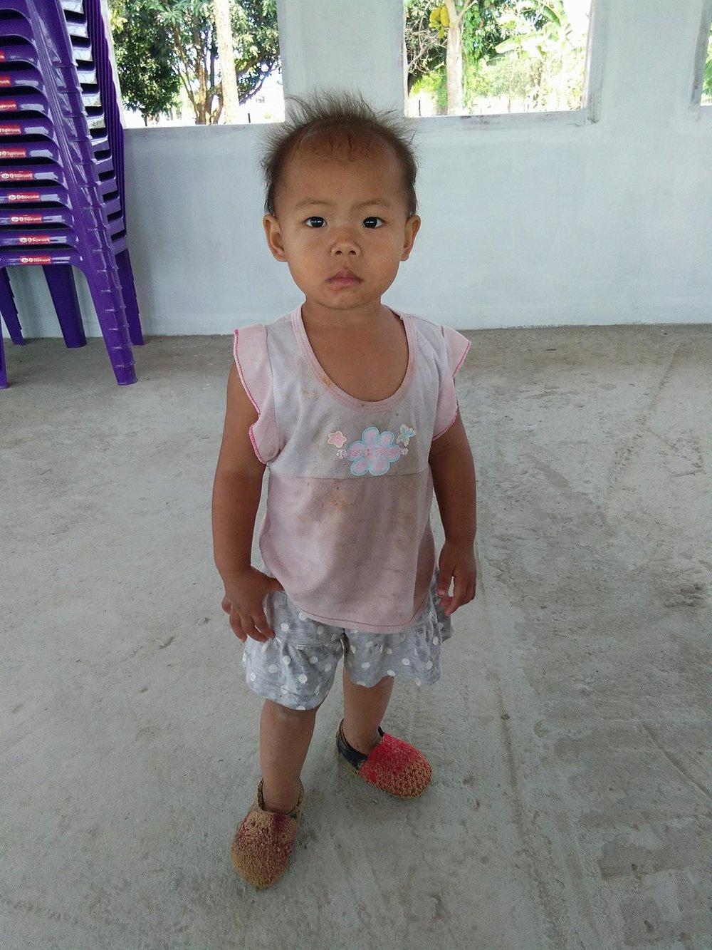 Nattarika Nokthiasonk ( 3 years old, girl)