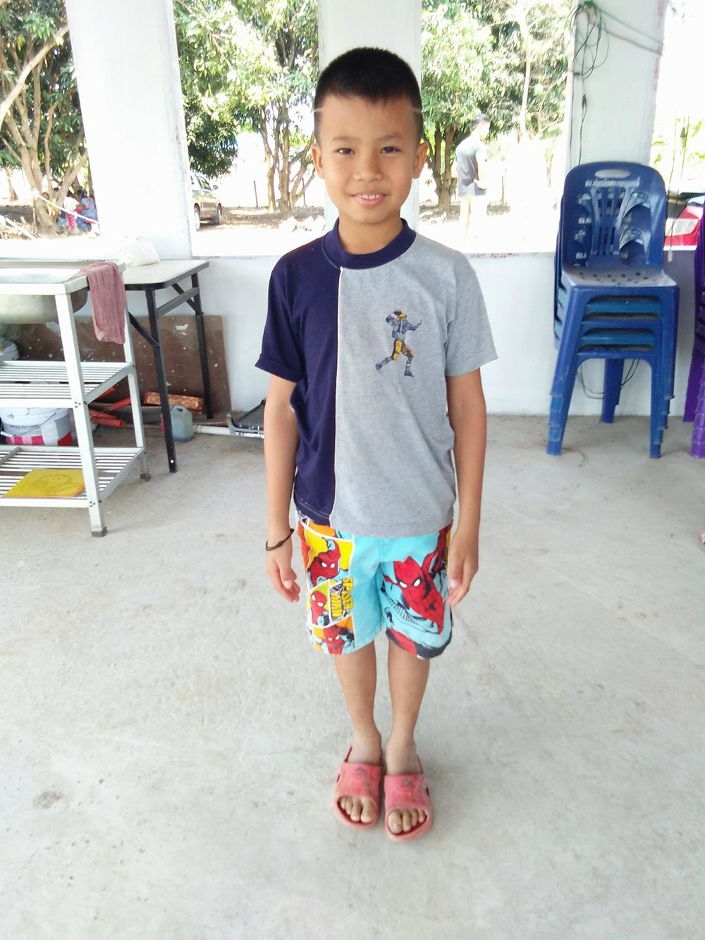 Aekavit Pondongnok (10 years old, boy)