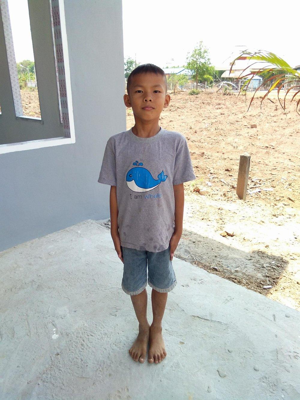 Nattawut Nokthaisonk (8 years old, boy)