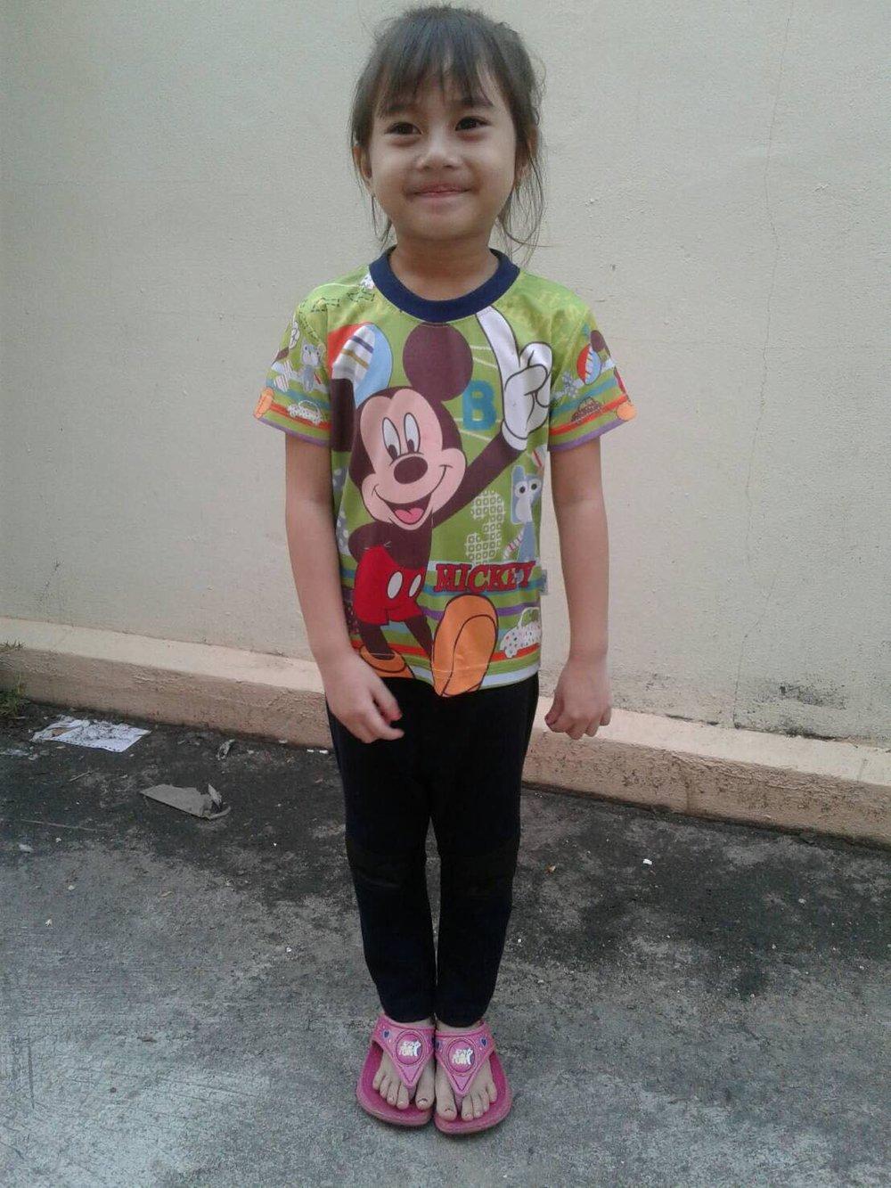 Hosunna Sumala ( Hunna) (4 years old, girl)