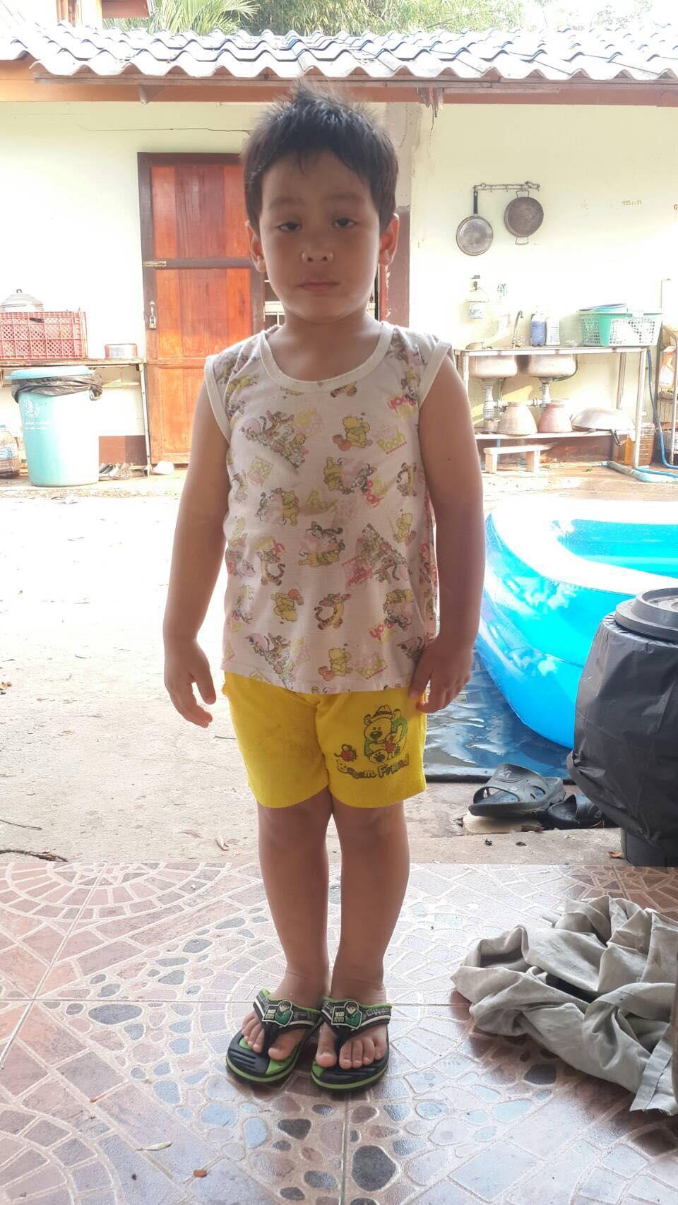 Punapat Junson ( pun pun) ( 3 years old, boy)