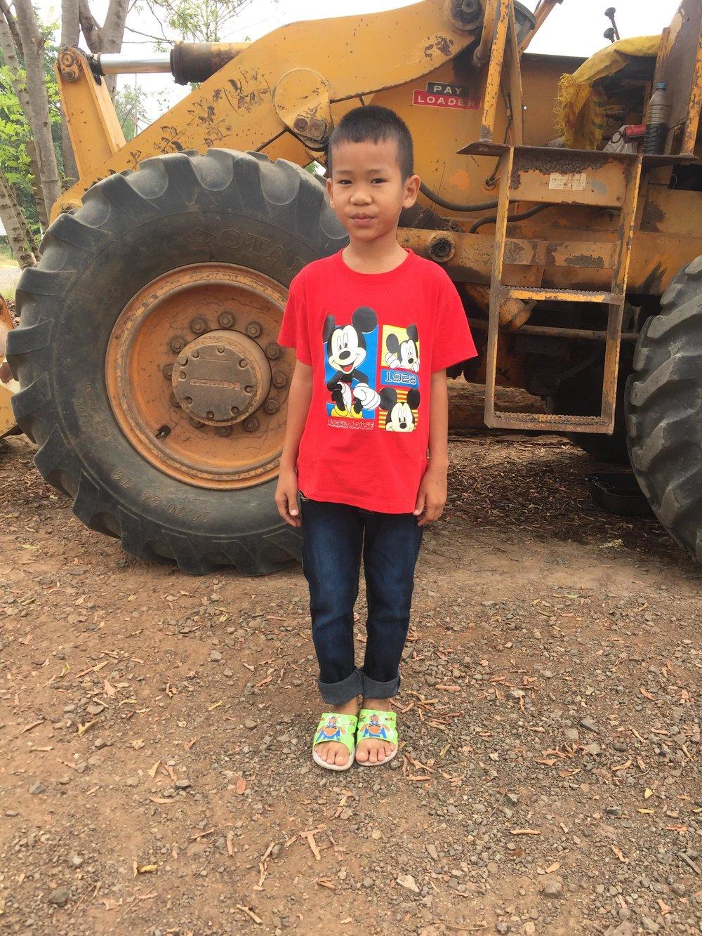 Sutipong Nunkratoke ( Fook) (8 years old, boy)